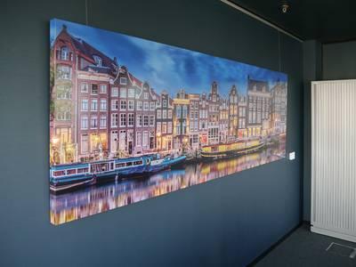 Foto op HD metal canvas 100x250 cm