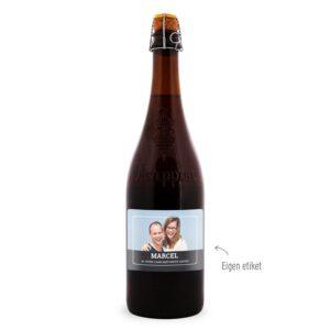 foto op bier