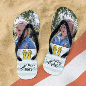Foto op slippers