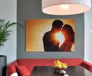 Foto op canvas 210x225 cm
