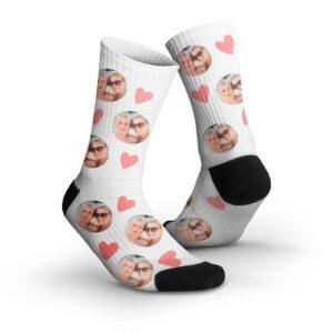Foto op sokken