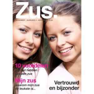 Foto op tijdschriftcover