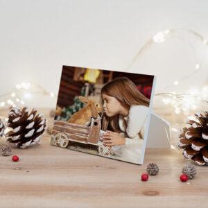 Foto op houten lijstje 9x13 cm